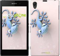"""Чехол на Sony Xperia Z1 C6902 Гекончик """"1094c-38-532"""""""