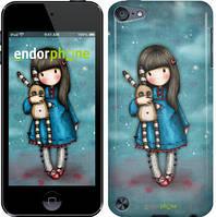 """Чехол на iPod Touch 5 Девочка с зайчиком """"915c-35-532"""""""