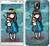 "Чехол на Samsung Galaxy Note 3 N9000 Девочка с зайчиком ""915c-29-532"""