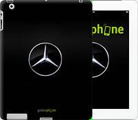 """Чехол на iPad 2/3/4 Mercedes Benz 1 """"974c-25"""""""