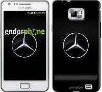"""Чехол на Samsung Galaxy S2 i9100 Mercedes Benz 1 """"974c-14"""""""
