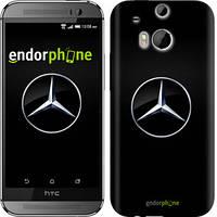 "Чехол на HTC One M8 dual sim Mercedes Benz 1 ""974c-55"""