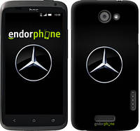 "Чехол на HTC One X+ Mercedes Benz 1 ""974c-69"""