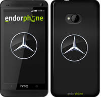 "Чехол на HTC One M7 Mercedes Benz 1 ""974c-36"""