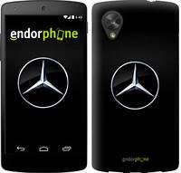 "Чехол на LG Nexus 5 Mercedes Benz 1 ""974c-57"""