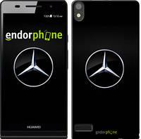 "Чехол на Huawei Ascend P6 Mercedes Benz 1 ""974c-39"""