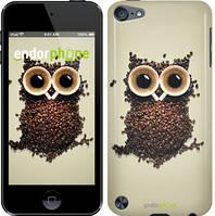 """Чехол на iPod Touch 5 Сова из кофе """"777c-35-532"""""""