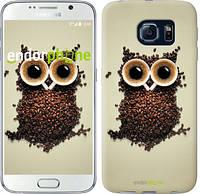 "Чехол на Samsung Galaxy S6 G920 Сова из кофе ""777c-80-532"""