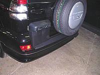 Юбка заднего бампера Toyota Prado 120 2003-2009 оригинал