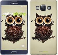 "Чехол на Samsung Galaxy A5 A500H Сова из кофе ""777c-73-532"""