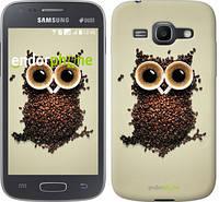 "Чехол на Samsung Galaxy Ace 3 Duos s7272 Сова из кофе ""777c-33-532"""