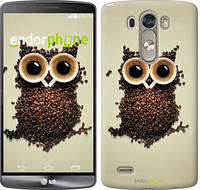 "Чехол на LG G3 D855 Сова из кофе ""777c-47-532"""