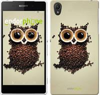 """Чехол на Sony Xperia Z2 D6502/D6503 Сова из кофе """"777c-43-532"""""""