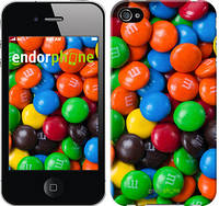 "Чехол на iPhone 4 M&M's ""1637c-15-532"""