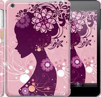"Чехол на iPad mini Силуэт девушки ""2831c-27"""