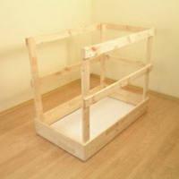 Защитное деревянное ограждение OMAN 120x70