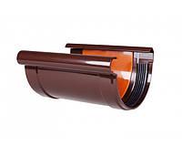 Соединитель желоба с вкладкой PROFiL 130/100 кирпичный