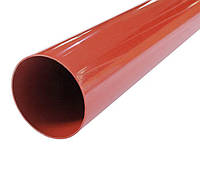 Труба водосточная PROFiL 75 3м кирпичная