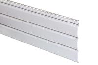 Панель Айдахо белая без перфорирации 3 м, 0,9 м2