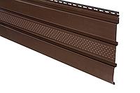 Панель Айдахо коричневая перфорированная 3 м, 0,9 м2