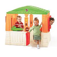 Детский игровой домик Step 2 NEAT & TIDY яркий