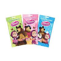 Влажные салфетки Smile Маша и Медведь, 15 шт 43109000/43112100 ТМ: Smile