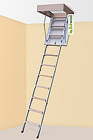 Горищні сходи Bukwood Compact Metal 110x70 һ280см