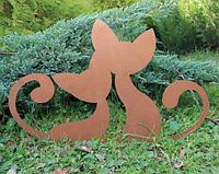 Садовая фигурка Коты 2