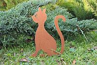 Садовая фигурка Кошка 3