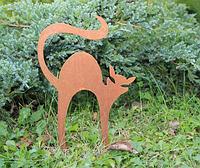Садовая фигурка Кошка 4