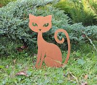 Садовая фигурка Кошка 5