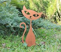 Садовая фигурка Кошка 6