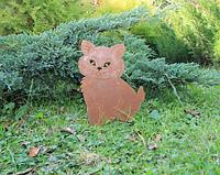 Садовая фигурка Кошка 7