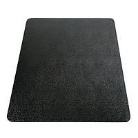 Защитный коврик из поликарбоната Clear Style Black 92х122 см черный прямоугольный