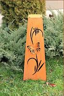 Садовая фигурка Колонна пирамида 3 средняя