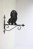 Подставка (крепление) для подвесного цветка Собака 10