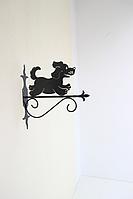 Подставка (крепление) для подвесного цветка Собака 1