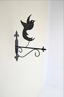 Подставка (крепление) для подвесного цветка Птица 2