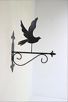 Подставка (крепление) для подвесного цветка Птица 5