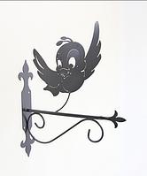 Подставка (крепление) для подвесного цветка Птица 1