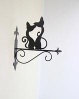 Подставка (крепление) для подвесного цветка Коты 1