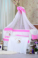 Детское постельное белье Bepino Звездочет, Розовый+держатель