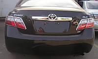 Хром накладка на планку багажника Toyota Camry 40 2006-2011 (ABS пластик)