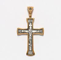 Серебряный крестик 3479-ЗЧ