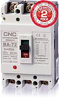 Автоматический выключатель ВА-72, 100А, 3Р, 380B, 25кА, CNC