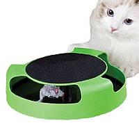 Игра для кота с точилкой когтей Catch the Mouse