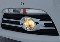Накладки на передние противотуманные фары Volkswagen Passat CC 2008-2011