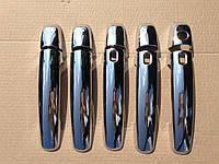 Хром накладки на ручки Suzuki Grand Vitara 2005-2014  5шт. E-KEY под электронный ключ пластик