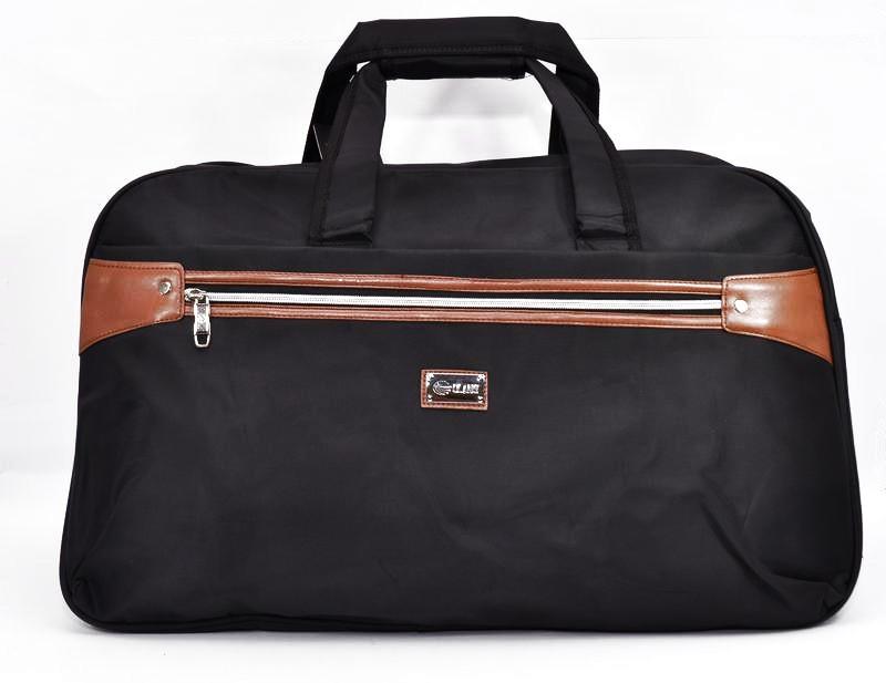 30a14f3e4320 Сумка большая дорожная спортивная текстильная черная RVS 8068 - Интернет- магазин
