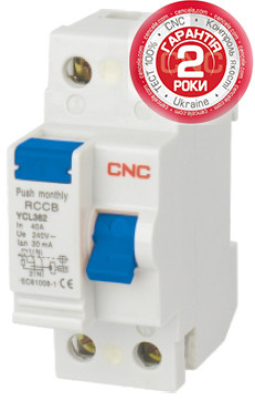 YCL362(4)-63, 4,5кА, 30мА — CNC™